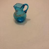 Kék üveg kiskancsó