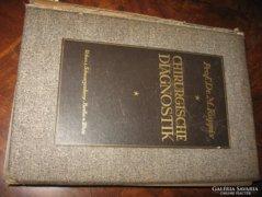 CHIRURGISCHE DIAGNOSTIK 1924 / Prof.Dr.M.Kappis