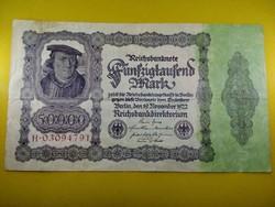 Német 50000 Márka 1922 / id 3408/