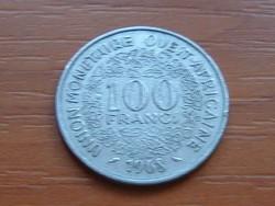 NYUGAT AFRIKA 10 FRANK FRANCS 1968 (a) #