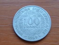 NYUGAT AFRIKA 10 FRANK FRANCS 1969 (a) #