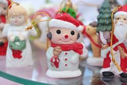 porcelán karácsonyfadíszek