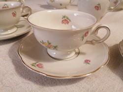 Meseszép, hibátlan és hiánytalan, 15 részes Krister KPM jelzésű teáskészlet.