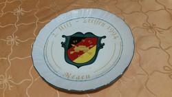 Porcelán dísztányér, falidísz eladó!Címeres Bavaria porcelán tányér