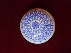 Alföldi porcelán bonbonier, 12 cm átmérővel.
