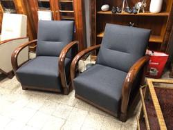 2féle art deco fotel pàr -ár/2db