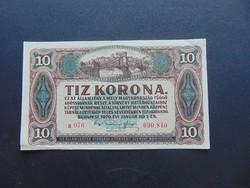 10 korona 1920 Sorszám között pont a 076