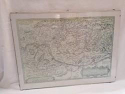 Térkép MH 92-115 üveg mögött 41x55 cm