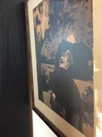 Bér Dezső (1875-1924): Éjszakai razzia. Akvarell-tus, papír, jelzett