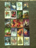Karácsonyi képeslapok és üdvözlők - '70-'90-es évek