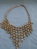 Ezüst tibeti collier csodálatos indiai kézimunka  116,5 gramm