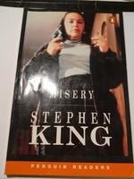 Stephen king: Misery angol nyelvű thriller, tortúra. Penguin readers.