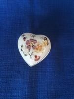 Zsolnay szív alakú bonbonier
