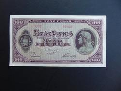 100 pengő 1945 E 261  Hajtatlan bankjegy
