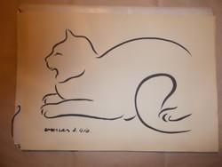 Vaszary J: A macska