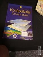 Középiskolai földrajzi atlasz [CR-0003]