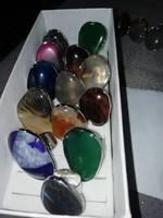 Csodaszép achát állítható gyűrűk