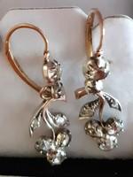 Fabulous Art Nouveau diamond earrings 4.80 g