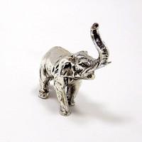 Ezüst elefánt miniatűr (ZAL-BI38898)