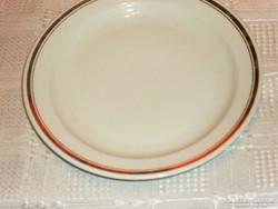 Zsolnay aranycsíkos tányér 20 cm