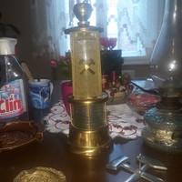 Bányász  lámpa  antik