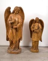 Máriahegyi János: egyházi alakok festett szobrászgipszből (3 db)