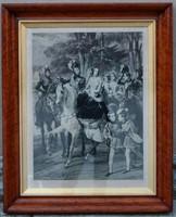 Horace Vernet (1789-1863) után,Jean Pierre Marie Jazet (1788-1871) I.Miklós cár és családja