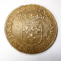 Louis XIV 1652 ECU korabeli másolat.