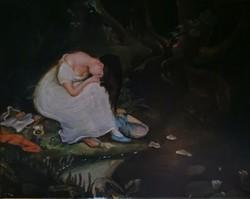Női festmény
