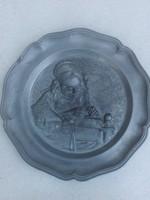 Ón fali tányér 22 cm - jelzett