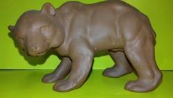 Katzhütte kerámia medve maci jelzett