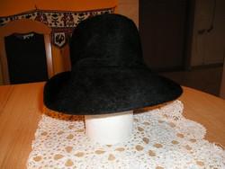 Női kalap, fekete - 54-es