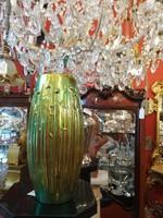 Eozinos Zsolnayi váza 1930 37 cm