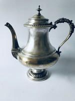 Francia ezüstözött teás kanna