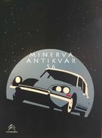 Régi Citroen DS automobil hirdetés, csillagos ég. Vintage/antik reklám plakát reprint