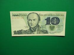 Lengyelország 10 zloty 1982 Extraszép!