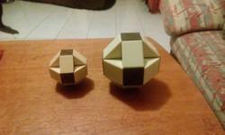Eredeti retro Rubik-Bűvös kigyók