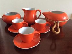 Zsolnay modern kávéskészlet (Török János)