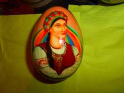 Orosz  kézzel festett  lakk  disztojás