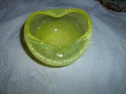 Karcagi  fátyol  üveg tál-hibátlan