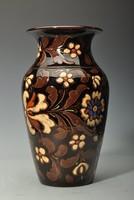 Mezőtúr Badár Erzsébet fazekas, (1899-1985)  szecessziós vázája, hibátlan szép állapotban.