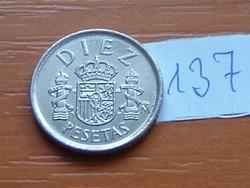 SPANYOL 10 PESETAS 1984 137.