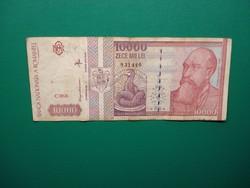 Románia 10000 lei 1994