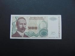 500 millió dinár 1993 Szerbia UNC !
