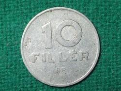 10 Fillér 1969 ! Nagyobb - Nulla -  Belső Átmérőjű Változat !