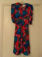 Vintage/retro színes vidám  női ruha