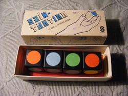 Retro Szín-Taktika logikai  kockajáték - Skála-Coop Műtex