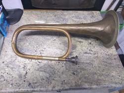 Réz trombita régi