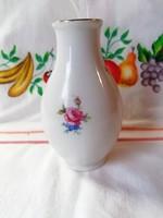 Hollóházi virágos váza