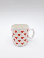 Szívecskés Gránit Kispesti mini bögre - szív mintás csésze